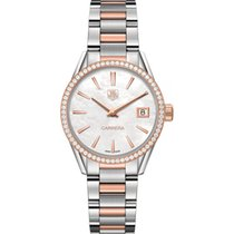 TAG Heuer Carrera Lady WAR1353.BD0779 Tag Heuer Carrera Oro Rosa e Diamanti neu