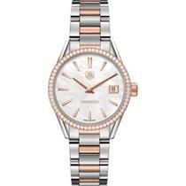 TAG Heuer Carrera Lady WAR1353.BD0779 Tag Heuer Carrera Oro Rosa e Diamanti new