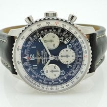 6240118591a3 Breitling A23322 Steel Navitimer 42mm pre-owned