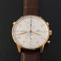 IWC Portuguese Chronograph Rattrapante 18k Pink gold