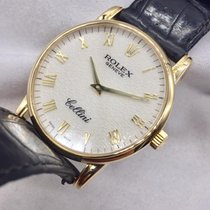 Rolex 32mm Manual winding 2001 pre-owned Cellini (Submodel)