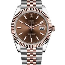Rolex Datejust II Rolex 126331 Datejust II Steel Rose Gold Chocolate Dial 41mm 2020 new