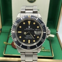Rolex 16800 Submariner Pumpkin Matte dial Unpolished 1983 Papers