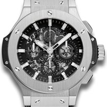 Hublot Big Bang Aero Bang Steel 44mm Black No numerals United Kingdom, London