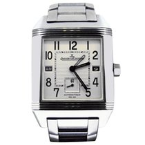 Jaeger-LeCoultre Reverso Squadra Hometime Staal 35mm Wit