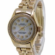 Rolex Oyster Perpetual 26 Yellow gold 25mm