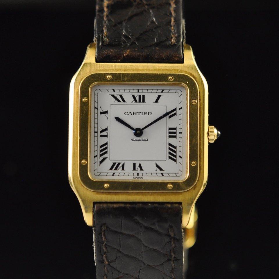 2f06203ad6b Cartier Santos Dumont Ouro amarelo - Todos os preços de relógios Cartier  Santos Dumont Ouro amarelo na Chrono24