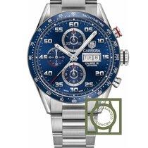 TAG Heuer Carrera Calibre 16 new 2019 Automatic Chronograph Watch with original box and original papers CV2A1V.BA0738