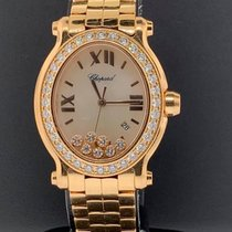 Chopard Happy Sport Rose gold 30mm White United States of America, New York, New York