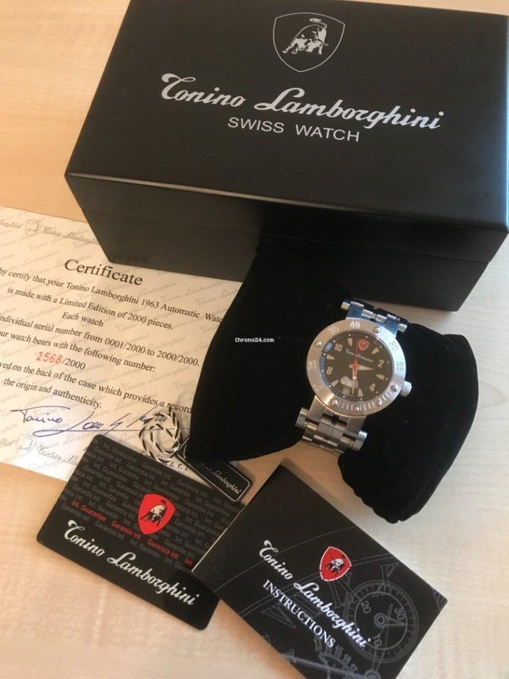 Tonino Lamborghini Watch >> Tonino Lamborghini Limited Edition 1568 2000