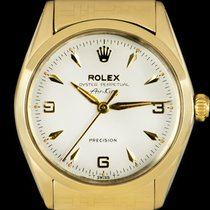 Rolex Air King Precision Yellow gold 34mm Silver No numerals United Kingdom, London