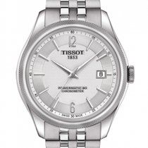 Tissot Ballade Powermatic 80 COSC Steel 39.00mm Silver Arabic numerals United States of America, Florida, Tarpon Springs