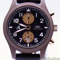 IWC Ceramic Automatic Brown 46mm new Pilot Chronograph