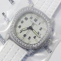 Patek Philippe Aquanaut  white Gold Diamond set