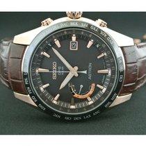 Seiko Astron GPS Solar Chronograph Titanium Brown United States of America, Pennsylvania, Philadelphia