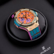 Hublot Big Bang Pop Art Gelbgold 41mm Orange