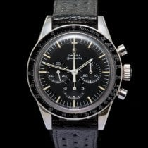Omega Speedmaster Professional Moonwatch gebraucht 39.5mm Leder