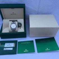 Rolex Oyster Perpetual 34 Steel Silver Arabic numerals
