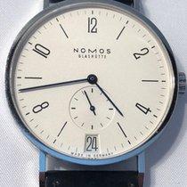 NOMOS Tangente 38 Datum Steel 37.5mm Silver Arabic numerals United States of America, California, San Francisco