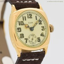 Elgin Yellow gold 31mm Manual winding pre-owned United States of America, California, Beverly Hills
