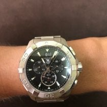 TAG Heuer Aquaracer 300M Steel Black United States of America, New Jersey, Wyckoff