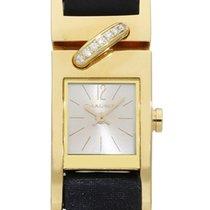 Chaumet Zuto zlato 16mm Kvarc W14012-22B rabljen