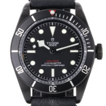 Tudor Black Bay Dark Stål 41mm Svart Inga siffror