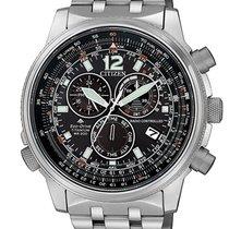 Citizen new Quartz Solar watch 43mm Titanium Sapphire Glass