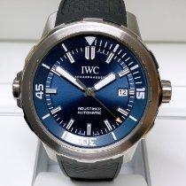 IWC Aquatimer Automatic Çelik 42mm Mavi Sayılar yok
