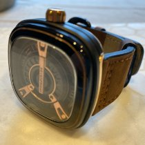 Sevenfriday Steel Automatic Black 47mm pre-owned M2-2