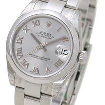 Rolex Datejust 31 silver roman