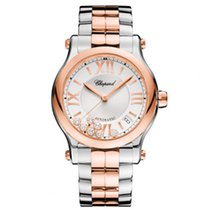 Chopard Happy Sport 36mm Automatic Steel & Rose Gold 18kt