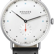 NOMOS Metro 38 38.5mm 1109 Stainless Steel Back