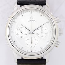 Omega DeVille Chronograph Cal 861 silver Dial Dresswatch Top...