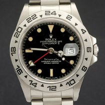 Rolex Explorer II ref 16550 Retailed by Tiffany & Co.