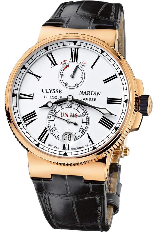 Ulysse Nardin Marine Chronometer Manufacture 1186-122/40 pre-owned