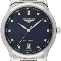 Longines Master Collection Steel 38,50mm Blue