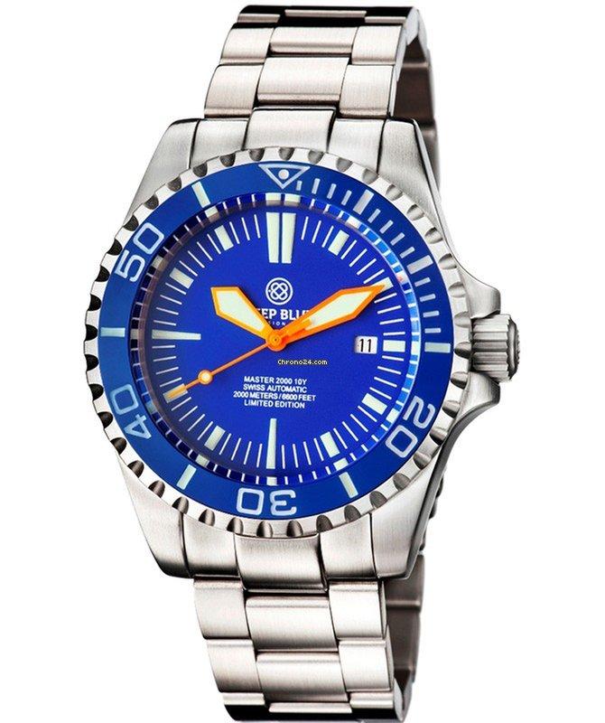 4913de2a5f8 Preços de relógios Deep Blue