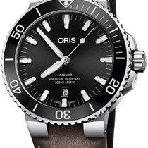 Oris Aquis Date Steel 43.5mm Black