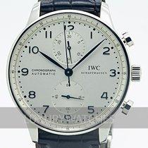 IWC Portuguese Chronograph Steel 41mm White