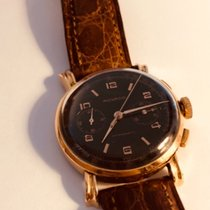 Movado Rose gold Manual winding Movado chronograph pink gold 1945 pre-owned