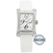 Oris Rectangular Steel 37mm Silver Arabic numerals United States of America, Pennsylvania, Bala Cynwyd