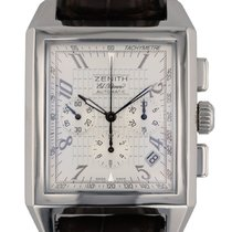 Zenith Port Royal Steel 51mm Silver Arabic numerals United States of America, Massachusetts, Boston