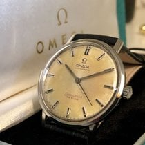 Omega Seamaster De Ville patina tropical dial mens watch + Box