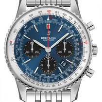 Breitling Navitimer 1 B01 Chronograph 43 Steel 43mm Blue United States of America, California, Moorpark