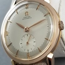 Omega Museum Rose gold 35mm Silver Arabic numerals