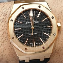 Audemars Piguet 15400or.oo.d002cr.01 Roségold 2016 Royal Oak Selfwinding 41mm gebraucht