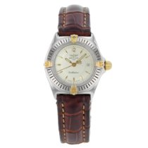 Breitling Callistino pre-owned 31mm Champagne Leather