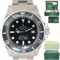 Rolex Sea-Dweller Deepsea Aço 44mm Preto