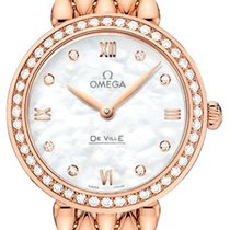 Omega De Ville Prestige Oro rosado 27.4mm Madreperla